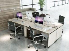 Tổng hợp những mẫu bàn ghế văn phòng hiện đại