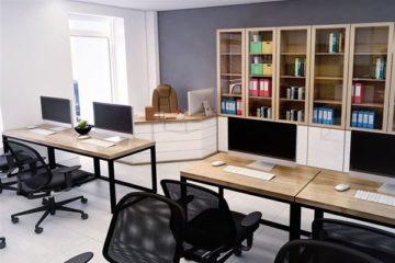Nội thất Đăng Khoa thiết kế văn phòng làm việc công ty đảm bảo tính thẩm mỹ cao