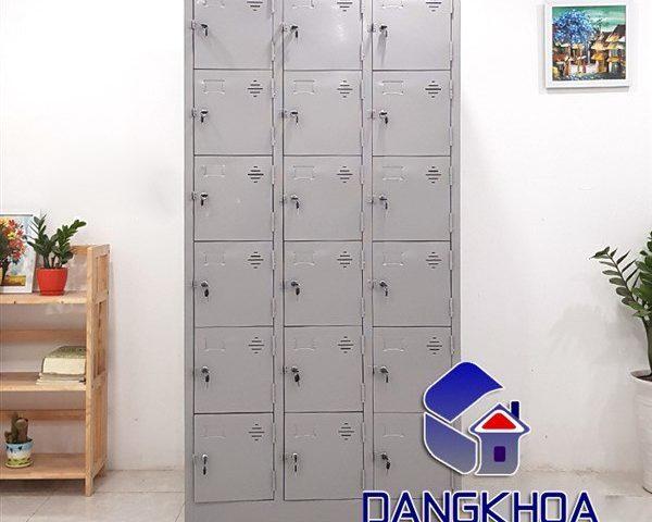 Phân phối cái tủ locker 18 ngăn tại nội thất văn phòng Đăng Khoa