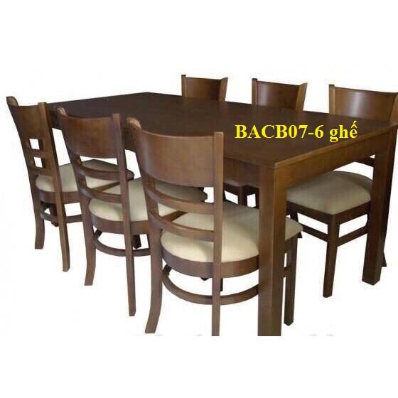 Kích thước bàn ăn 4 người, 6 người, 8 người và 10 người đạt tiêu chuẩn